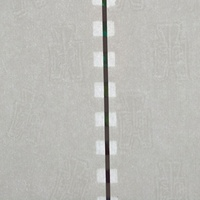security thread paper with UV fibers