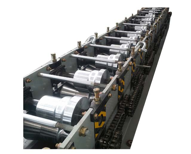 China downspout elbow rain gutter system forming machine