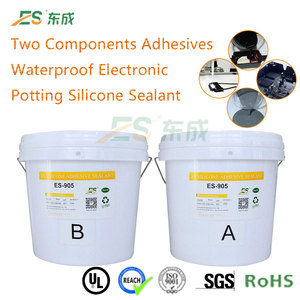 Two-component RTV Epoxy Resin Potting Adhesive AB Glue