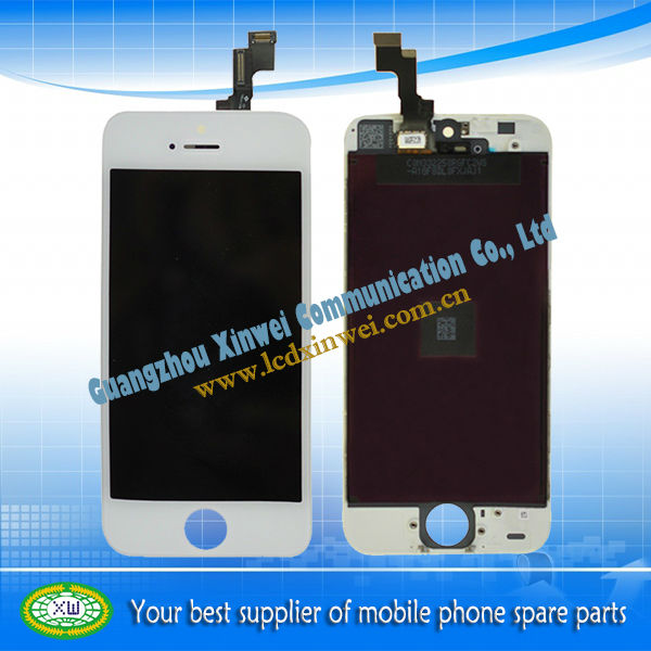 Repalcement lcd mobile phone touch screen for iphone 5s lcd