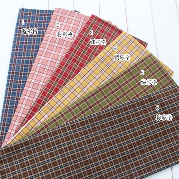 achetez en gros plaid coton tissu en ligne des grossistes plaid coton tissu chinois. Black Bedroom Furniture Sets. Home Design Ideas