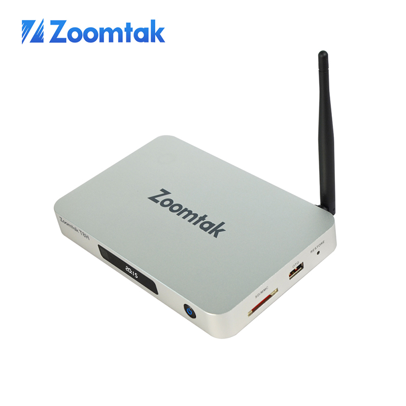 Zoomtak Quad Core S905 Kodi 16.1 live stream 3d 4k smart tv box