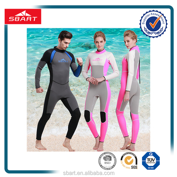 SBART New long sleeve 3mm neoprene Men Women diving wetsuit Traithlon Full body wet suit
