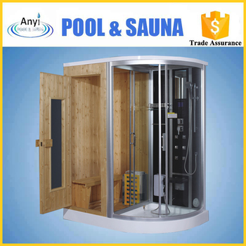 Outdoor Sauna Steam Room And Combined For Home Use
