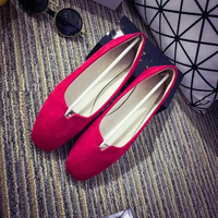 New products latest design wholesale china online shopping pointed toe beautiful casual shoes spring/summer ladies flat shoes