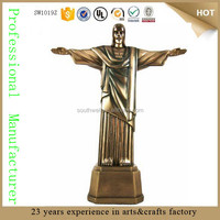 The Bronze Finish Figurine Redeemer jesus christ statue jesus statues for sale