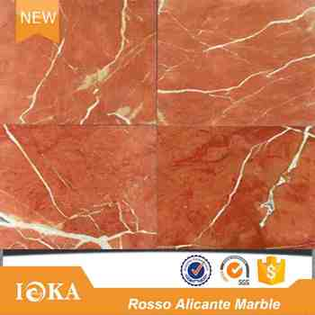 Rojo Alicante Wall And Floor Marble Tile Rosso Tiles