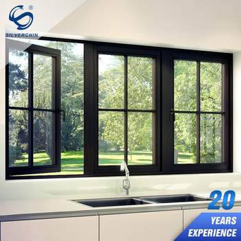 Kitchen Swinging Out Cats Aluminium Reinforced Gl Opening Windows