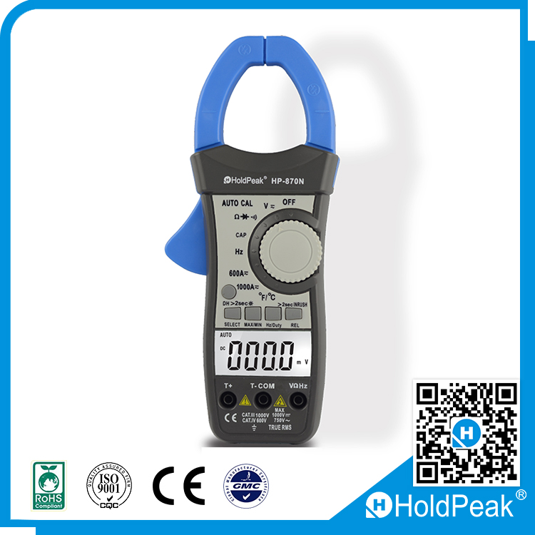 UNI-T AC/DC Digital clamp multimeter , digital clamp meter with low price