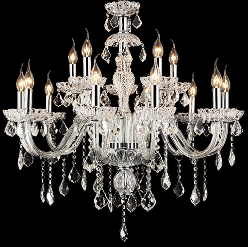 Hot sale classic style crystal chandelier, hanging candle <strong>light</strong> with crystal pendants