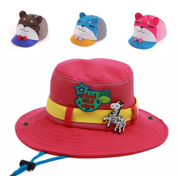 Toddlers Babys Wide Brim Straw Hat,Suma-ma Kids Boy Girls Floppy Derby Beach Sun Cap Sun Protection Lace Bow Hats