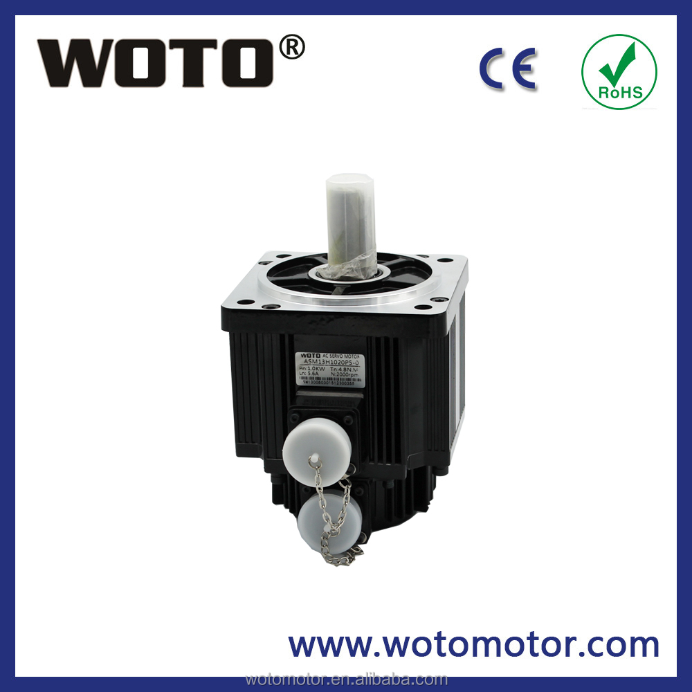changzhou electric ac servo motor and driver kit 220V 1KW 3.18Nm 3000rpm high quality and cheap price