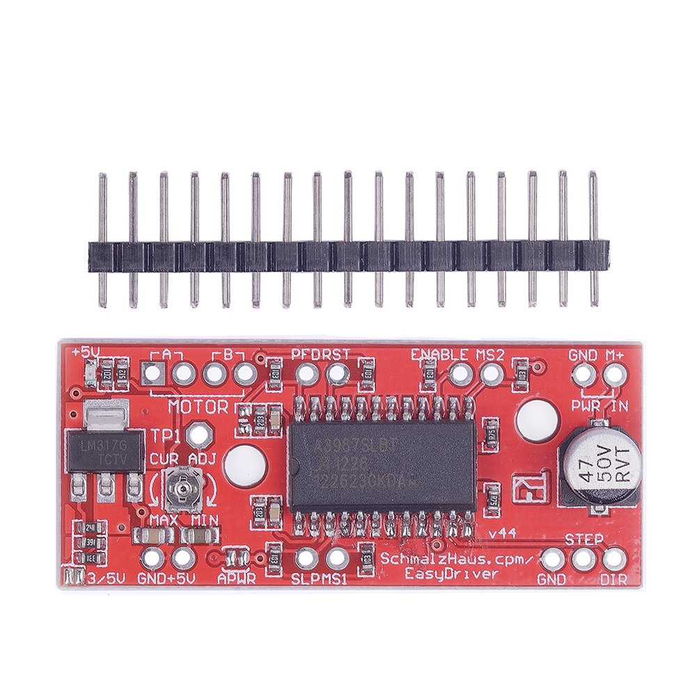 Cheap Stepper Driver Wiring Find Deals On Motor Get Quotations Cylewet Easydriver Plate V44 A3967 With A Single Row Pin Header For Arduino