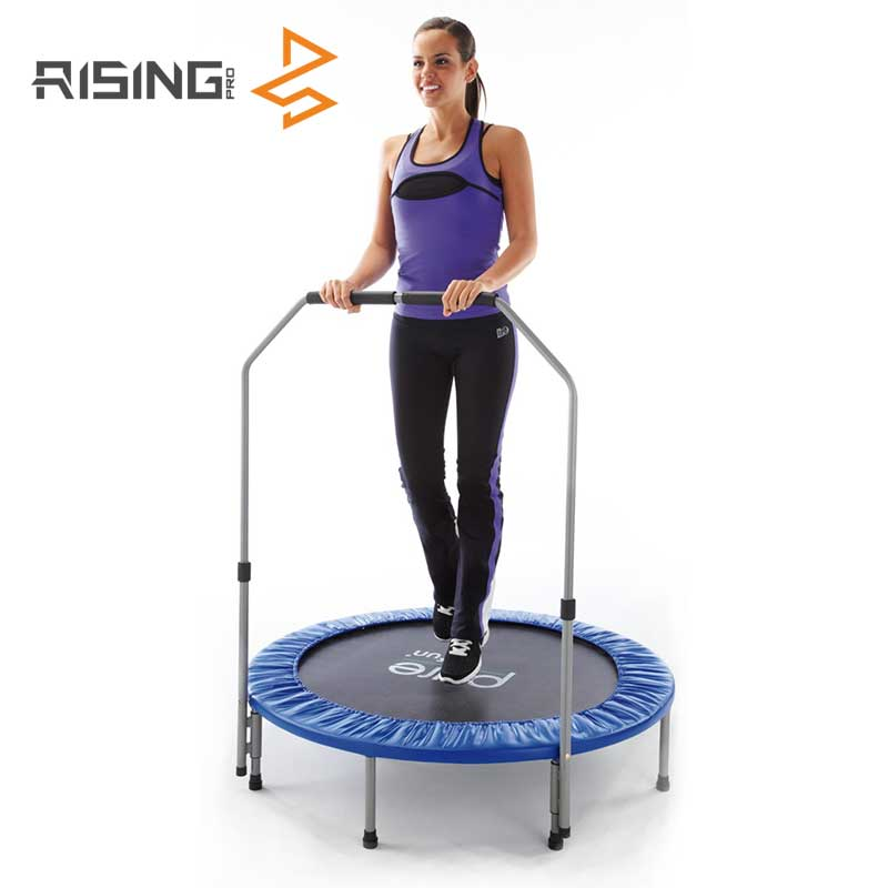 Professionele Gymnastiek Fitness Mini Trampoline Met Handvat Bar