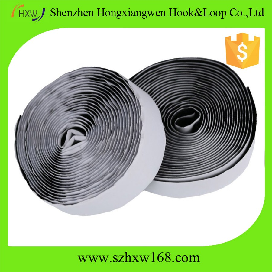 Reusable Back Tape Self Adhesive Hook And Loop Fastener New Hook And Loop Tape