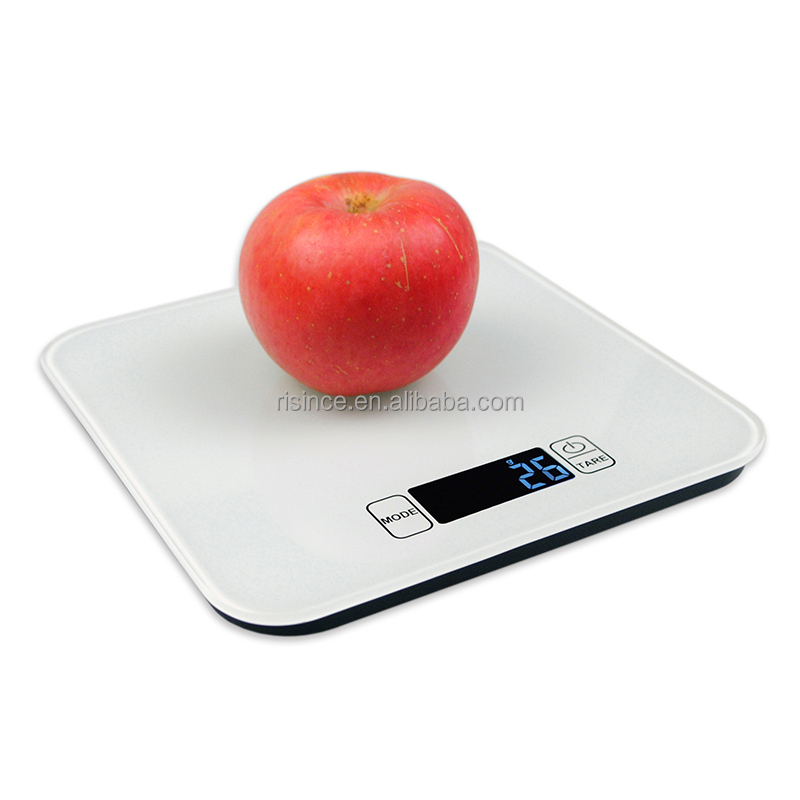 Amazon Best Seller Electronic Digital Kitchen Scale With Tempered Glass