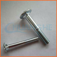 High quality stainless steel 304 316 316l carriage bolts