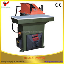 hot sale 22T atom automatic hydraulic swing armleather clicker cutting machine