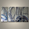 Hot Sale Abstract Etching Metal Wall Art for Office Decoration