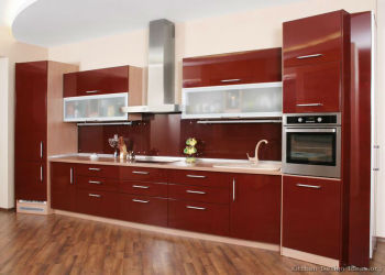 Fashion Design Complete Kitchen Cabinets Made In China,Germany PVC