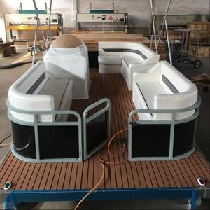5m HOT SALE ALUMINUM PONTOON FISHING BOAT MANUFACTURER