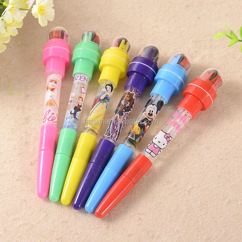 Korean creative stationery personalized promotional bubble roller stamp ball pen