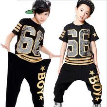 2016 Kids Adults performance wear Children Boy Girl Trousers sports sweatpants costume wear 66 star harem