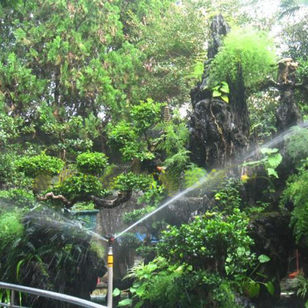 1/2' Male Thread Plastic Rotating Sprinkler Garden Irrigation Accessory