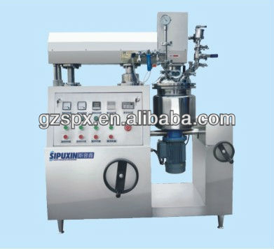 small vacuum homogenizing & emusifying for lab-use machine--vacuum mixer homogenizer