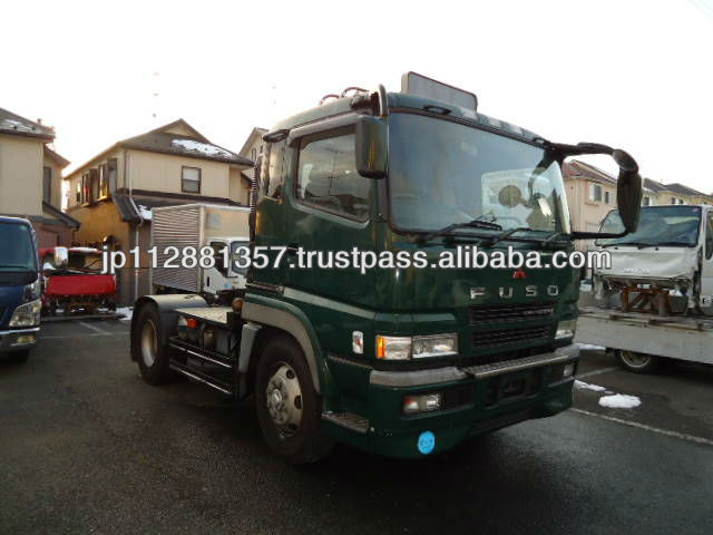Japanese Used Truck Mitsubisi Super Great Tractor RHD KL-FP54JDR