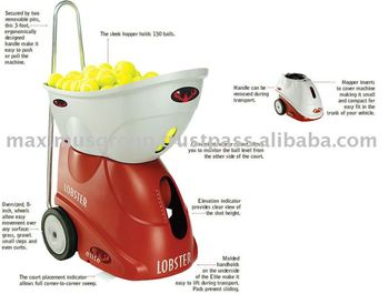 Lobster Elite 2 Tennis Ball Machine Buy Tennis Ball Machines For Sale Product On Alibaba Com