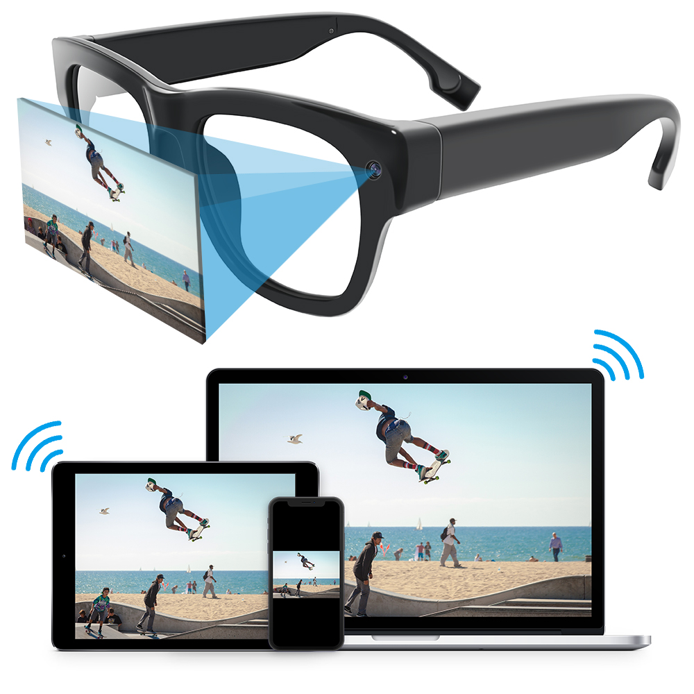 drahtlose versteckte Kamera Brille Japan HD-Video-Kamera HD Live-Streaming versteckte Kamera Brille