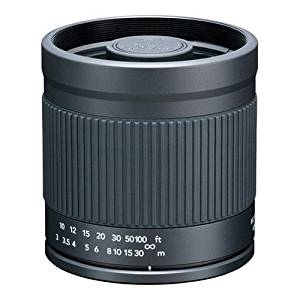 Kenko 400mm f/8 Mirror, Manual Focus Lens with T-Mount to fit Canon EOS Digital SLR's