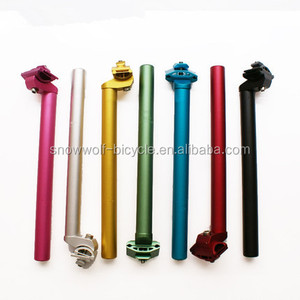 700c colorful bike seat post alloy bicycle stem customized color seat post