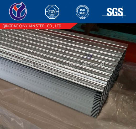galvanized corrugated sheet metal, corrugated zinc roof plates