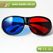 Good quality low price plastic blue films pictures porn 3d glasses red cyan glasses