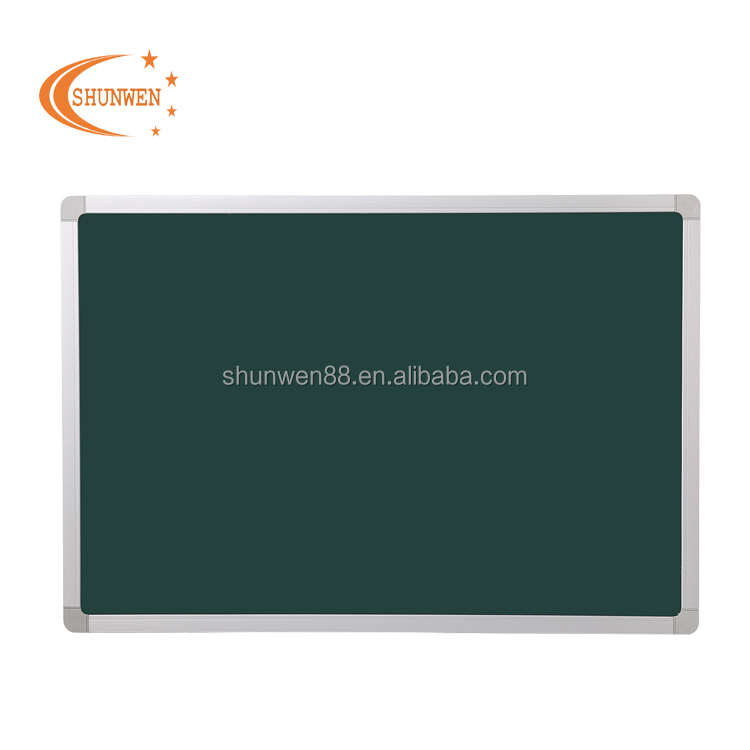 School Teaching Board Writing Green Board in Classroom Green Chalkboard