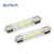 SUNKIA 31mm 36mm 39mm 42mm C5W Durable DC12V COB Filament LED Festoon Dome License Glass Lights Reading Lamp