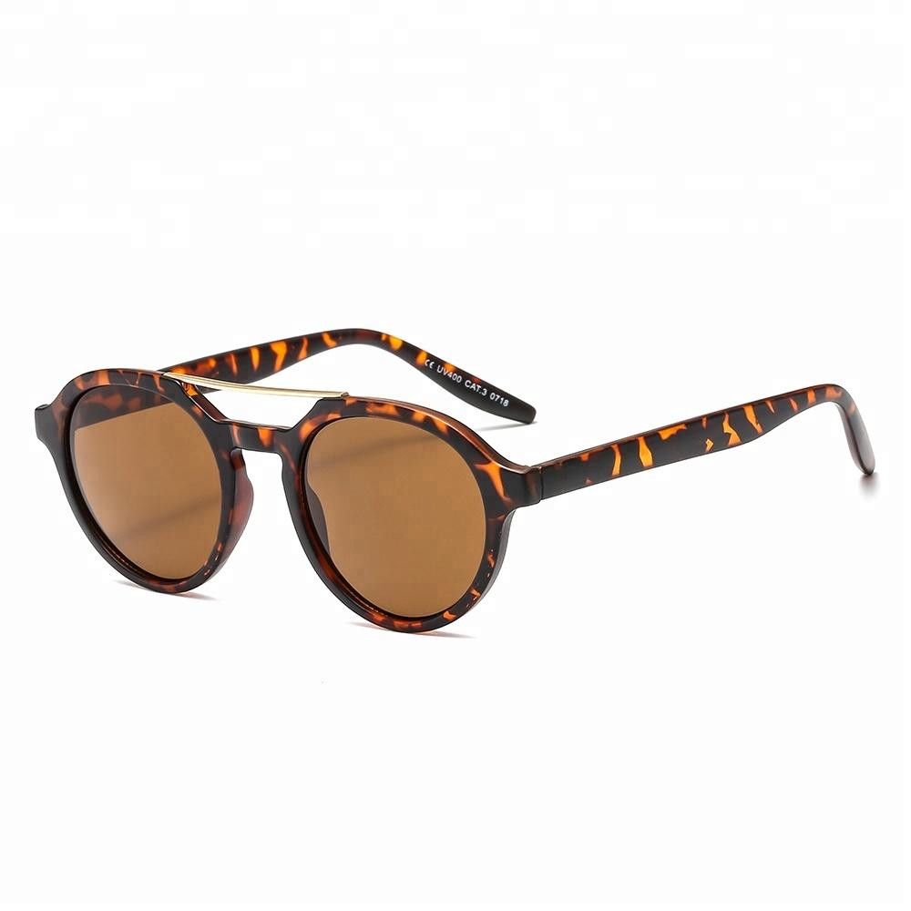 JHGafas de Sol CE Vintage Round Mens Customer Logo Wholesale Sunglasses 2019, Customize