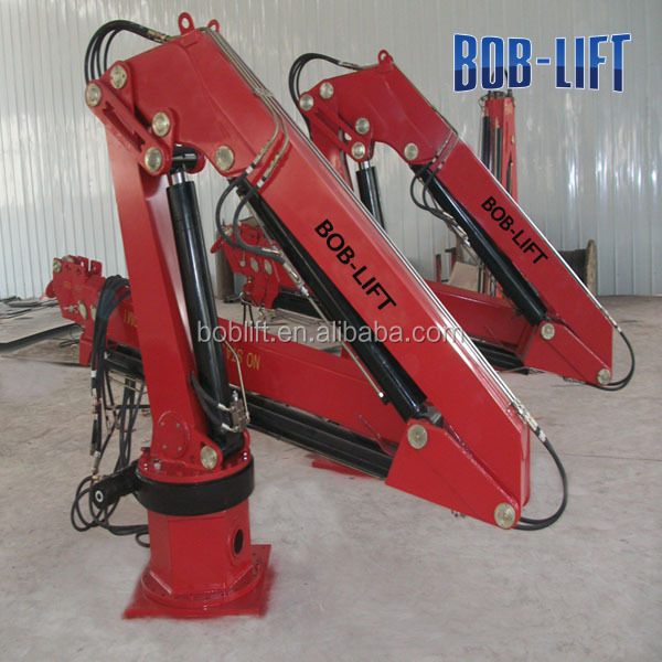 Small Knuckle Boom Crane : China famous small ship crane barges for sale buy