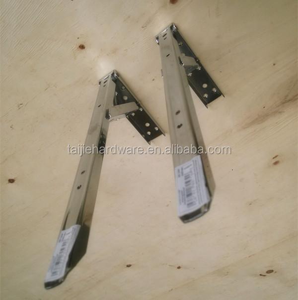 Staffa in metallo pieghevole staffa di montaggio a parete for Reggimensola pieghevole