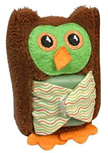Stephan Baby Boo-Hoo Owl Comfort Toy and Boo Cube, Green by Stephan Baby