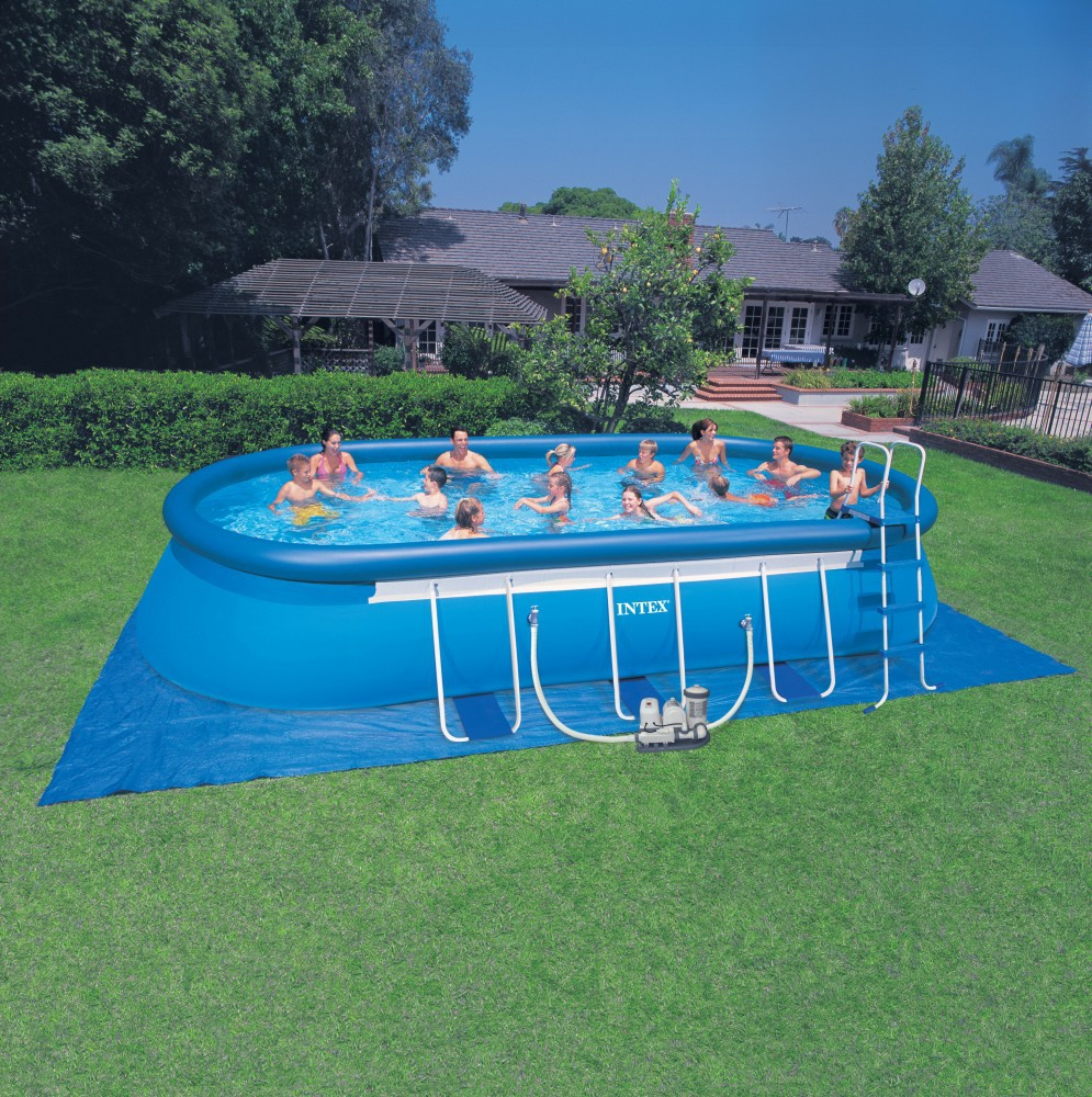 2015 Good Quality Giant Outdoor Mobile Adult Intex Adult Above Ground  Swimming Pool With Inflatable Swimming Pool Games - Buy Above Ground  Swimming ...