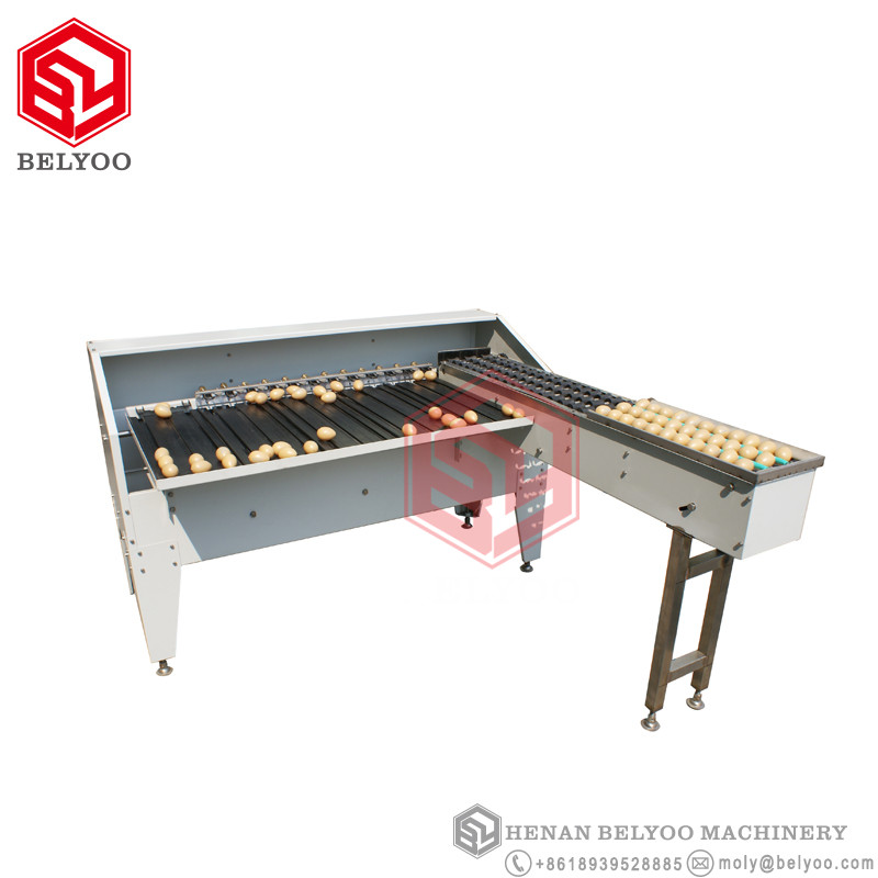 Best quality egg sorting machine egg sorter machine egg grader machine with high efficiency