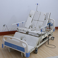 China supplier hospital furniture Electric medical equipment cheap used hospital bed for sale with Compound headboard