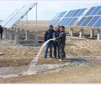 Solar Powered Agricultural Irrigation Water Pump