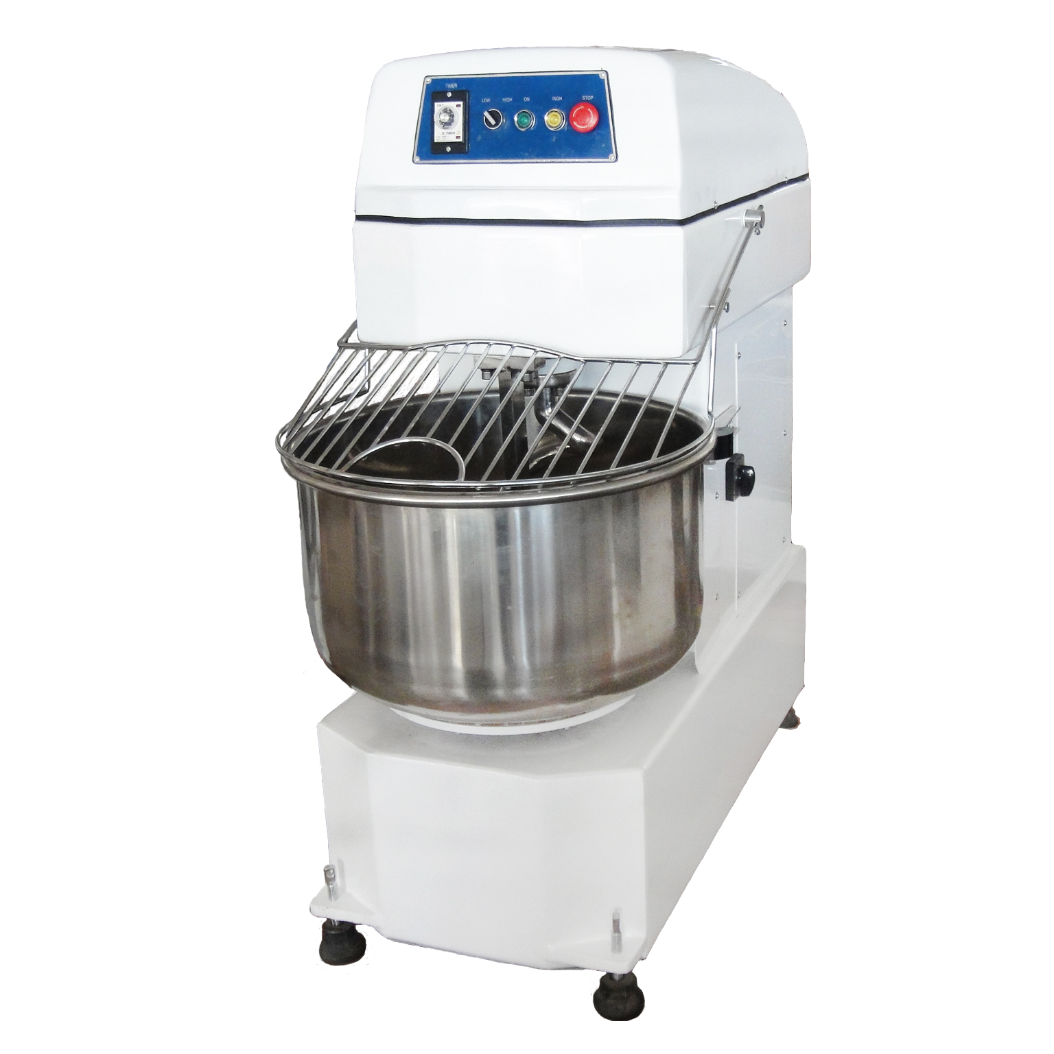 Commercial Double Speed Flour Spiral Dough Mixer Bakery