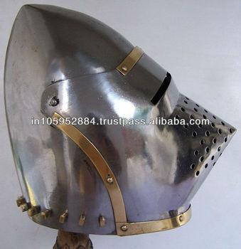 Pig Face Bassinet Helmet - Buy Pig Face Bassinet Helmet,Medieval Pig Face  Helmet,Hounskull Bascinet Product on Alibaba com