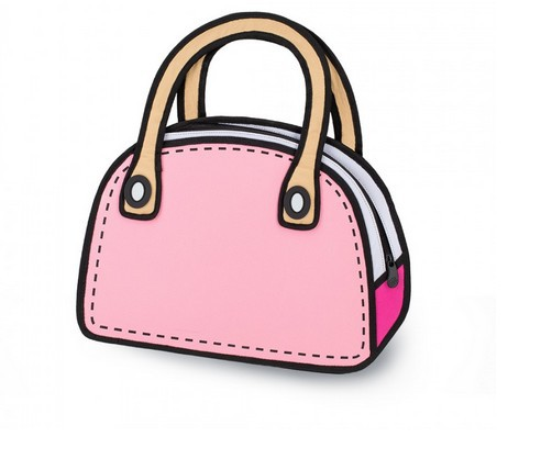 New Fashion 3D Cartoon Comic Women's Handbags handbags ladies in new <strong>design</strong>