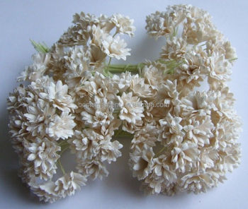 White Mulberry Paper Flower For Mini Embellishment Craft Scrapbook Decorate Buy Making Paper Flowers For Scrapbooking Mini Paper Craft Rose
